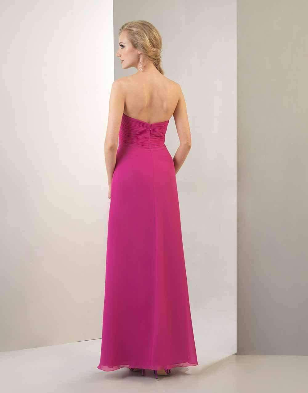 UK08 BRIGHT CERISE - INEZ - SALE - Adore Bridal and Occasion Wear