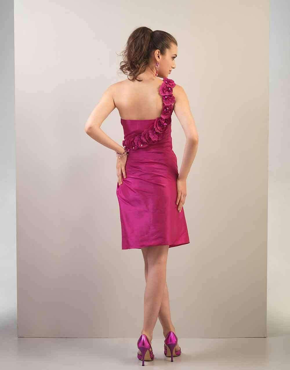 UK08 PINK VENEER - NEVA - SALE - Adore Bridal and Occasion Wear
