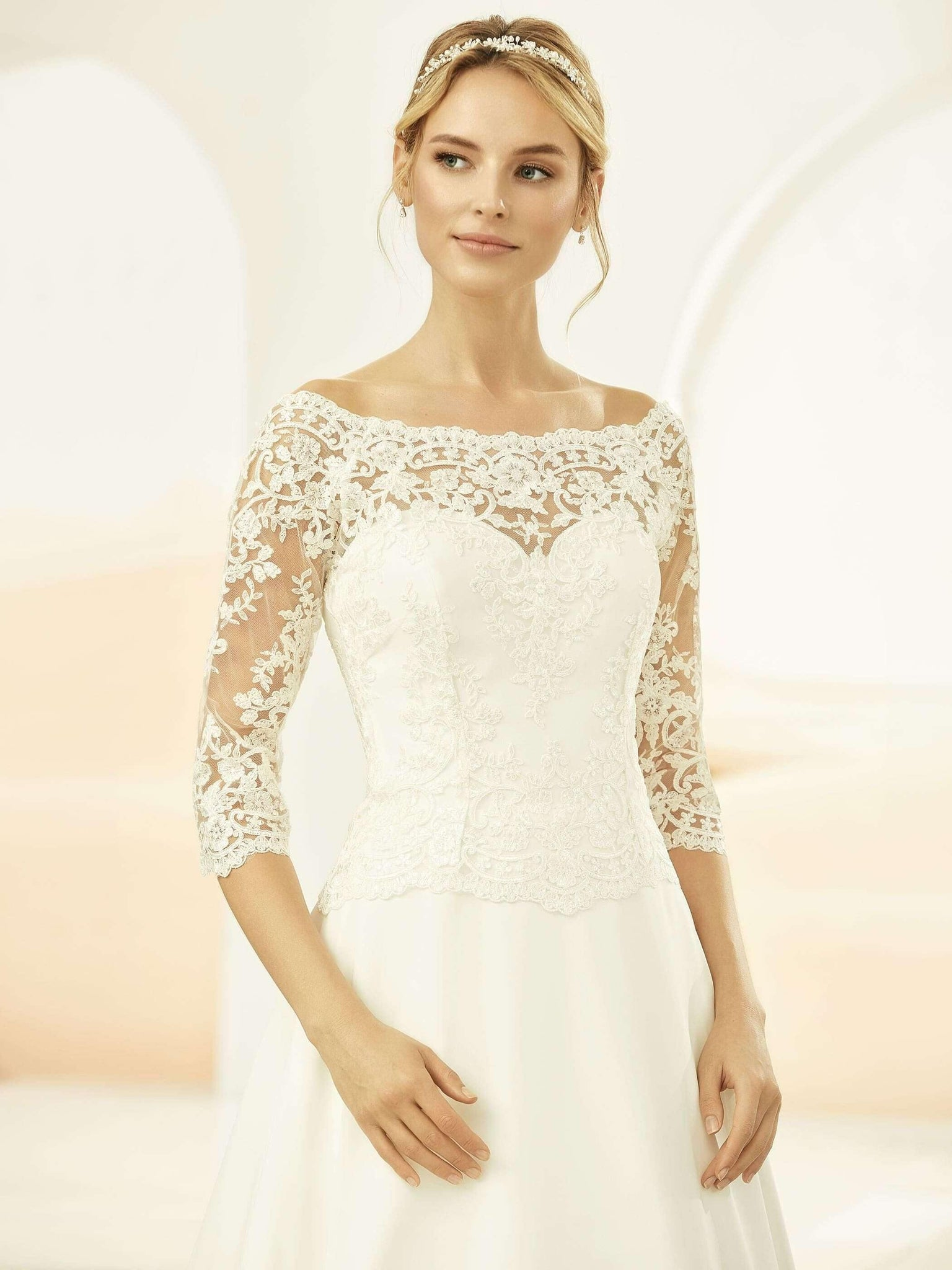 EDITH Lace Jacket - Adore Bridal and Occasion Wear