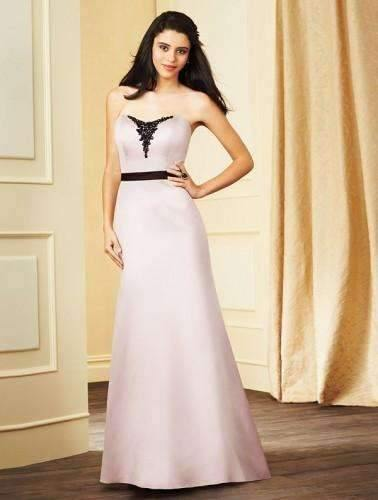 UK11 LOVES FIRST BLUSH/BLACK - KATALIN - SALE - Adore Bridal and Occasion Wear