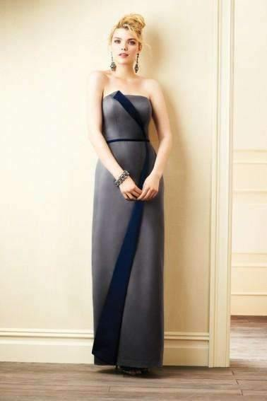 UK10 CHARCOAL/NAVY - LETIKA - SALE - Adore Bridal and Occasion Wear