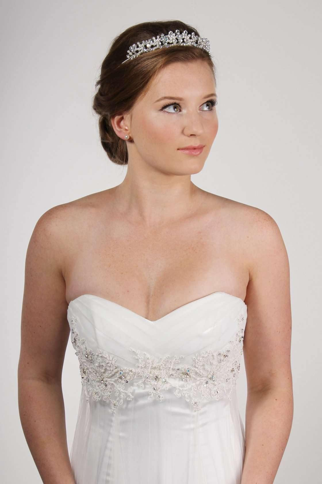 TR1035A SILVER/CREAM - Adore Bridal and Occasion Wear