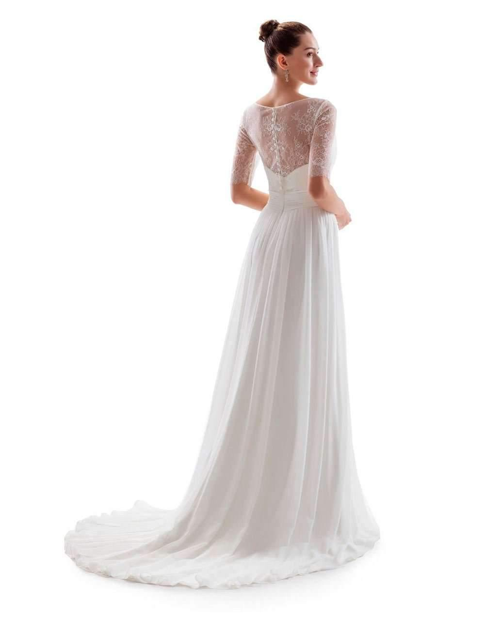UK16 - NADIA WITH TRAIN - SALE - Adore Bridal and Occasion Wear
