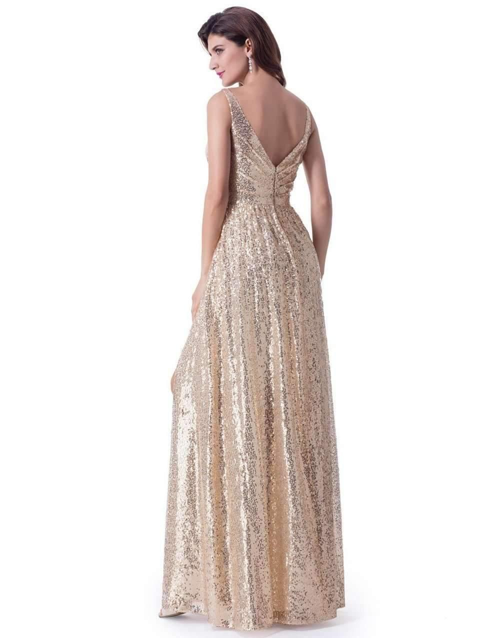 UK12 GOLD - SARA - SALE - Adore Bridal and Occasion Wear