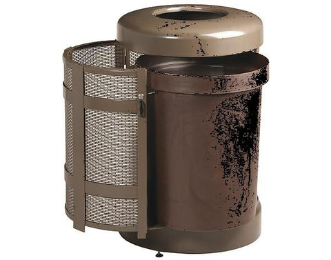 CONTAINER WASTE 31GAL BRZ