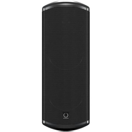 "Turbosound Impact TCI53-TR Dual 2-Way Weather-Resistant 5"" Full Range Loudspeaker with Line Transformer, 480W Peak Power, Single, Black"