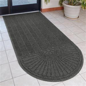Eco Grand Elite 6'W x 7'L Mat with One Oval End---CLEATED BACKING