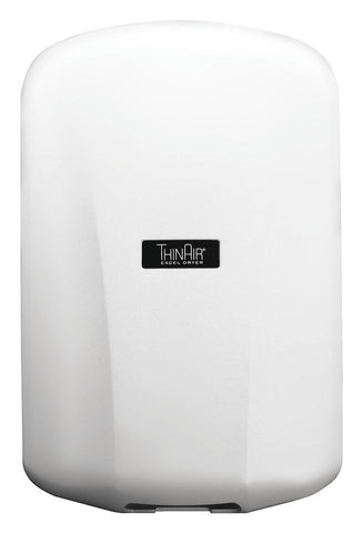 ABS Plastic, Fixed Nozzle Automatic Hand Dryer, 110 to 120 Voltage