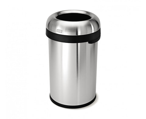 80 litre bullet open can stainless steel