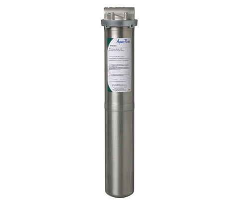 "Cartridge Water Filter Housing, 304 Stainless Steel, 3/4"" NPT"