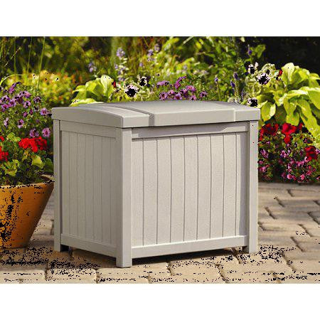 1  Suncast 22 Gallon Deck Box