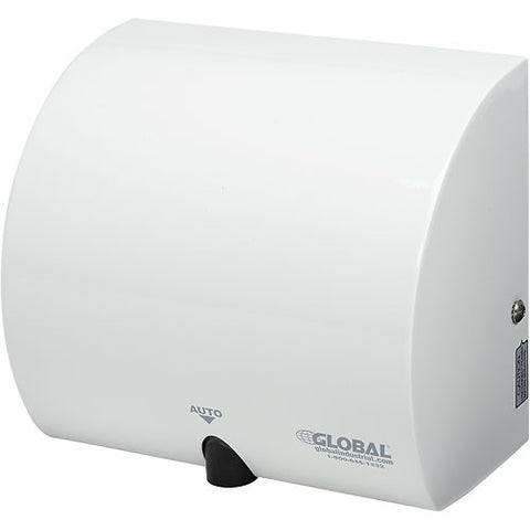 Global™ High Velocity Automatic Hand Dryer - White