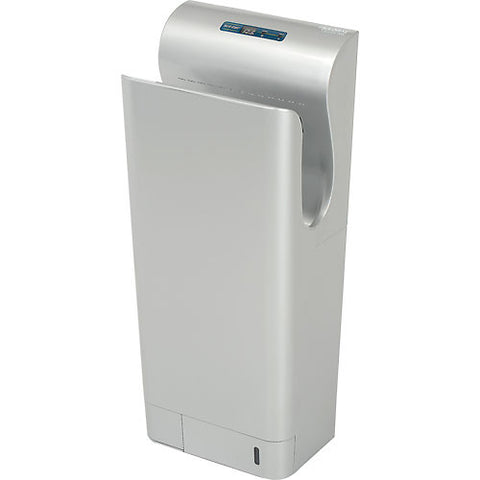 High Velocity Vertical Hand Dryer - Silver