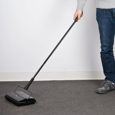"9 1/2"" Triple Brush Floor Sweeper"