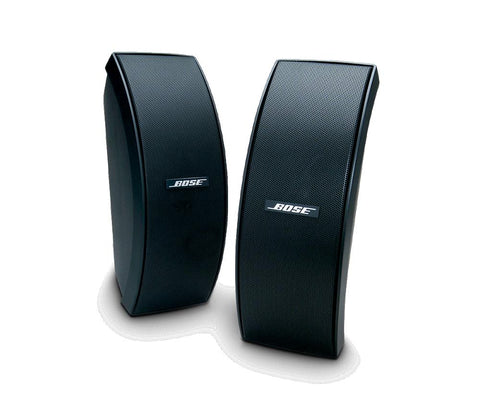 Bose 151 SE Outdoor Environmental Speakers, Black, Pair