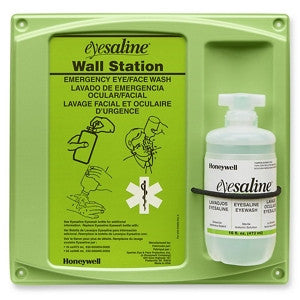 Secondary Single-Bottle Eyewash Station - 16 oz Capacity