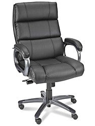 Leather Executive's Chair - Black