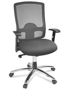 Deluxe Mesh Chair - Black