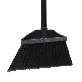 "O-Cedar Commercial MaxiClean Lobby Angle Broom Flagged, 30"" Metal Handle 12/Case - 6208 - Pkg Qty 12"