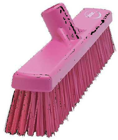 VIKAN Pink Polyester Fine Sweeping Combo Floor Broom