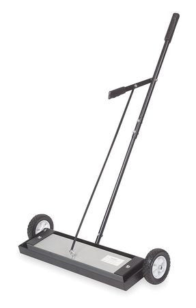 Rolling Magnetic Sweeper, 150 Lb Pull