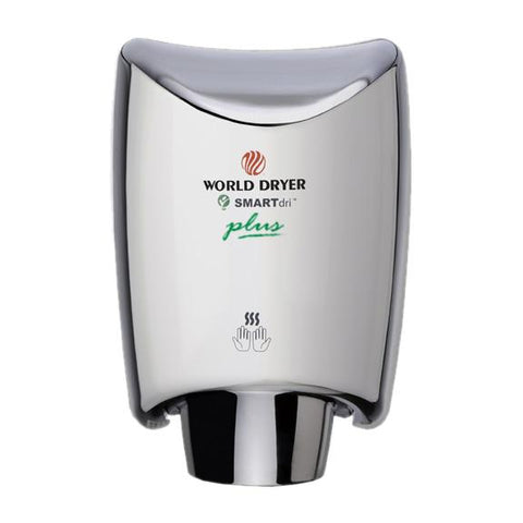 World Dryer K-972P SMARTdri plus (110-120V, Polished Stainless Steel)