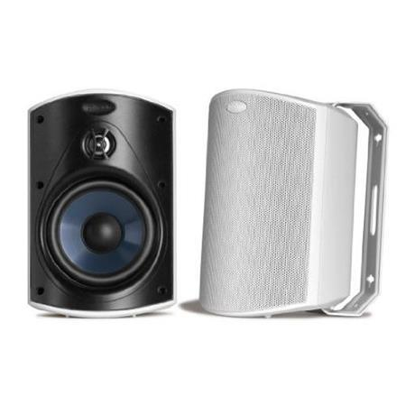 Polk Audio Atrium 4 All-Weather Outdoor Loudspeaker, 75Hz-25kHz, Pair, White