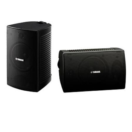 Yamaha NS-AW294 Outdoor Speaker, 80 Hz-20 kHz Frequency Response, 8 Ohms Impedance, Pair, Black