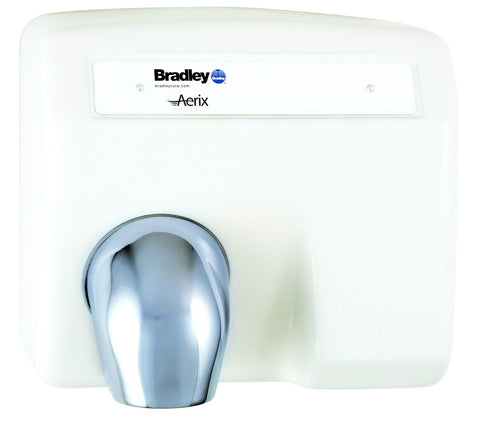 BRADLEY AERIX MODEL 2903-28, AUTOMATIC CAST IRON WHITE