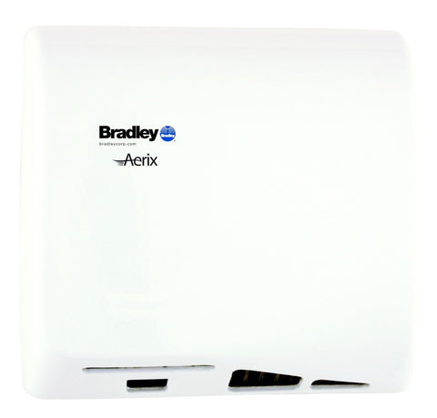 BRADLEY AERIX MODEL 2902-28 CAST IRON WHITE EPOXY UNIVERSAL VOLTAGE ADA