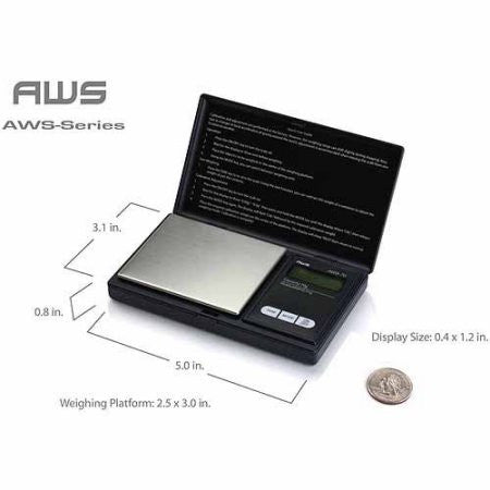 AWS Digital Pocket Scale