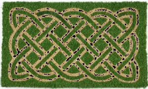 Celtic Handwoven Coconut Fiber Doormat