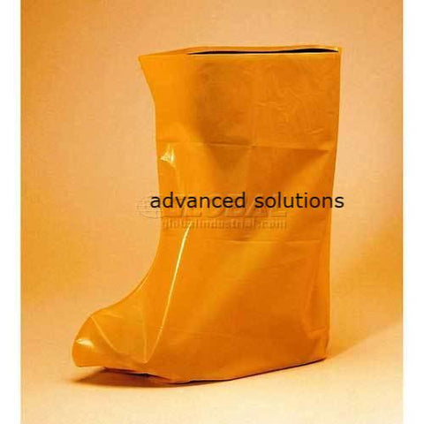 6 Mil Vinyl Boot Covers, Yellow, LG, 800/Case
