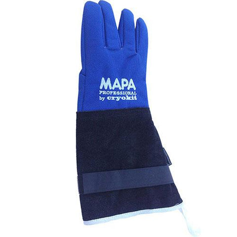 "MAPA® Cryoplus 2.0 Waterproof Cryogenic Glove, Leather Safety Cuff, 15""L, Size 10, CRYPLS203810"