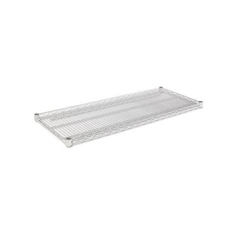 Alera Industrial Wire Shelving Extra Wire Shelves, 48w x 18d, Silver, 2 Shelves/Carton