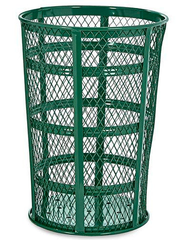 Wire Mesh Container- 45 Gallon, Green