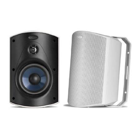 Polk Audio Atrium 5 Outdoor Speaker, 60Hz-25kHz, Pair, White
