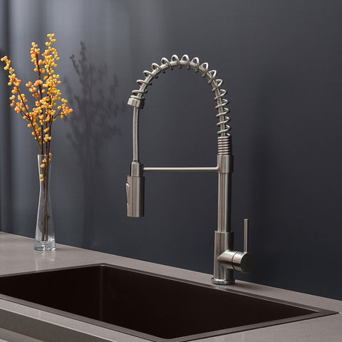 FRQYT214L Pull Down Single Handle Kitchen Faucet