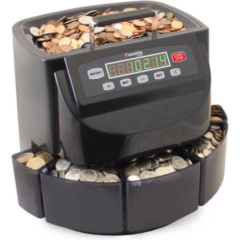 Cassida Coin Counter-Sorter-Wrapper C200