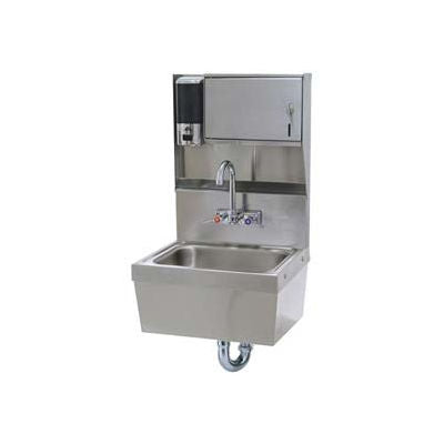 Advance Tabco® Hand Sink With Soap And Towel Dispenser