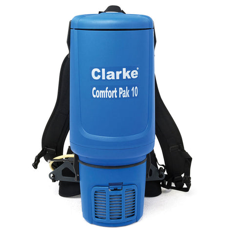 Clarke® Comfort Pak 10 Qt. with Tool Kit Backpack Vacuum - 9060707010