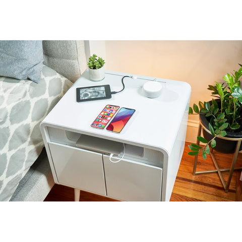 Sobro Smart End Table with Built-In Outlets