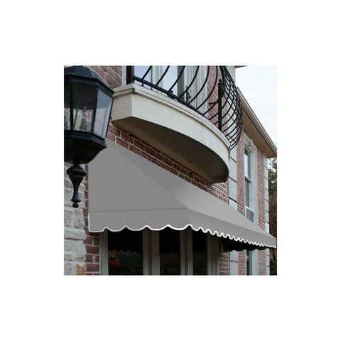 "Awntech RF22-4G, Window/Entry Awning 4' 4-1/2"" W x 2'D x 2' 7""H Gray"