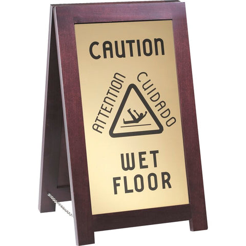 Caution Wet Sign