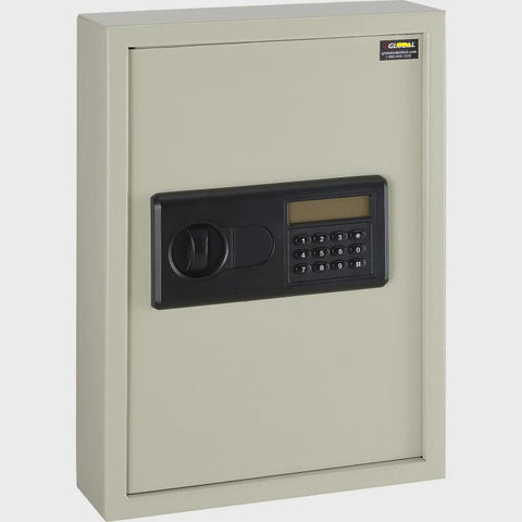 Electronic 48 Key Safe Cabinet, Sand