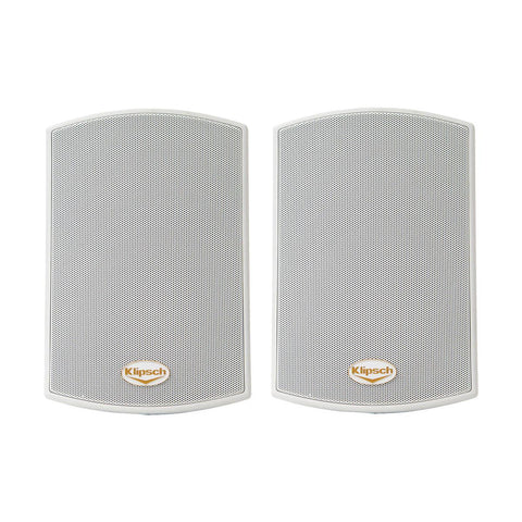 Klipsch AW-400 Reference All-Weather Outdoor Speaker, 50W RMS, Pair, White