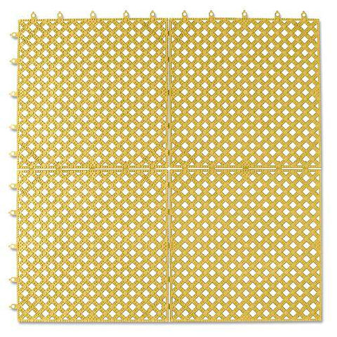 "Lok-Tyle  Mat - 12 x 12"", Yellow"