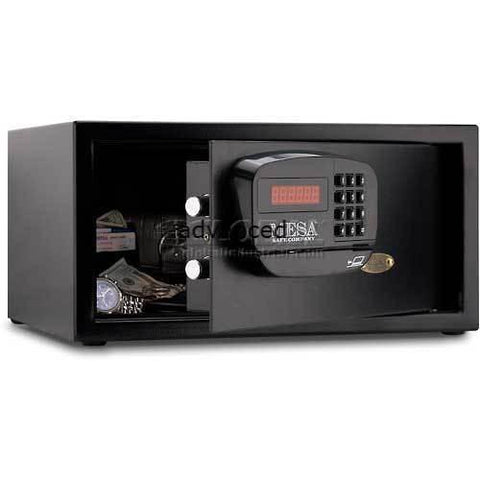 Mesa Safe Dorm and Hotel Safe Electronic Lock MHRC916E-BLK Keyed Differently, 18 x 15 x 9 Black