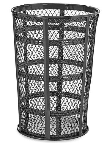 Wire Mesh Container- 45 Gallon, Black