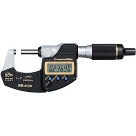 "Mitutoyo 293-180-30 0-1"" IP65 QuantuMike Digimatic Micrometer W/ Data Output"